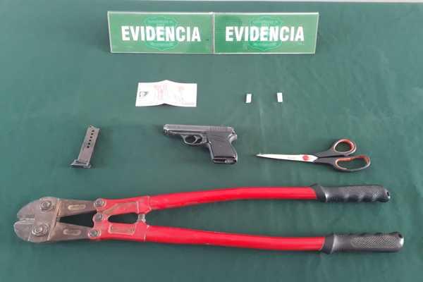 Intervension del OS7 Atacama en barrio prioritario dejo 6 personas detenidas
