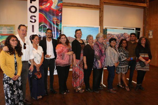 Exposición de pinturas en Caldera