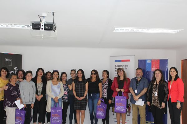 Gobernación Provincial y Prodemu realizan taller en materia de Violencia contra la Mujer y Equidad de Género.