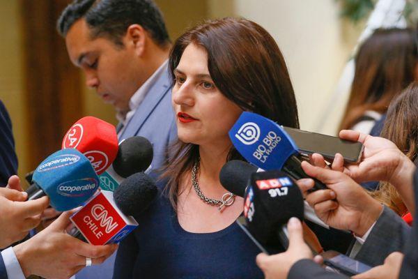 """Diputada RN Sofía Cid: """"Hemos logrado un muy buen acuerdo para apoyar a las Pymes capitalizando BancoEstado en 500 millones de dólares"""""""