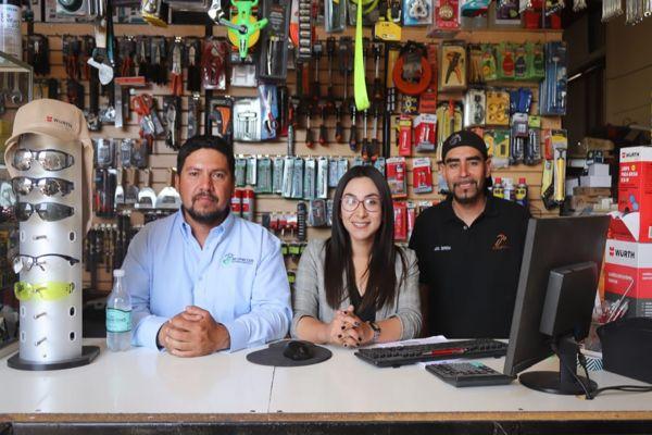 Maestranza y Ferretería de Copiapó recibieron visita de Seremi de Gobierno para promover sus productos y servicios