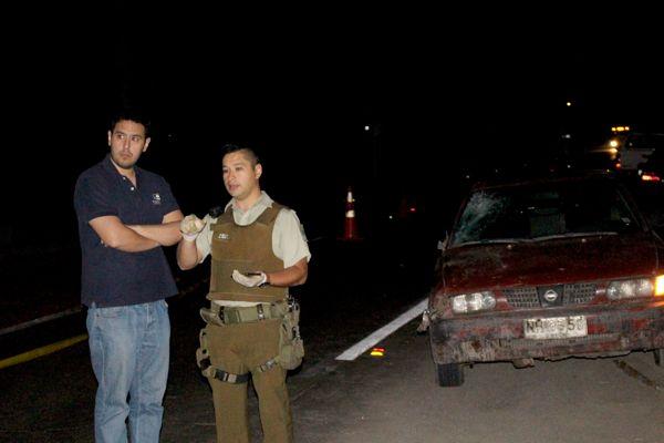 Fiscalía investiga causas de fatal atropello ocurrido la madrugada de este lunes en Tierra Amarilla
