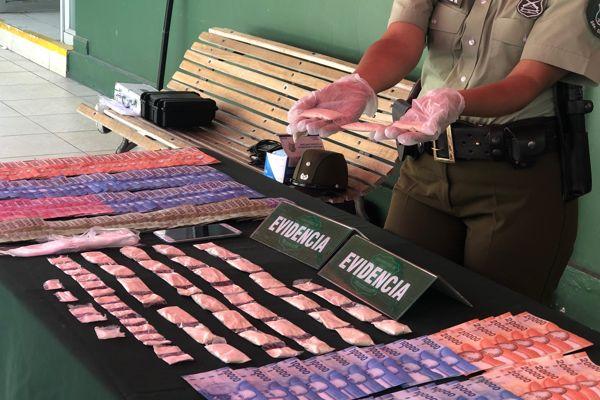 Procedimiento de drogas termino con la detención de un microtraficante y un prófugo de homicidio