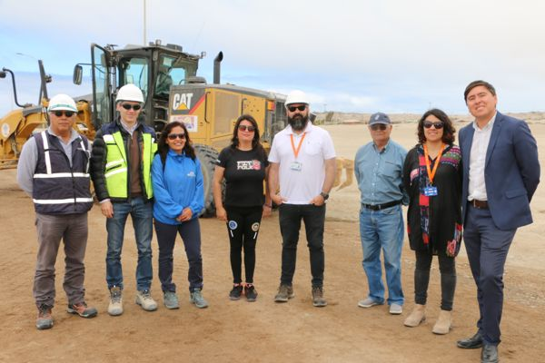 Finalizan mejoramiento acceso a sector de bahía loreto