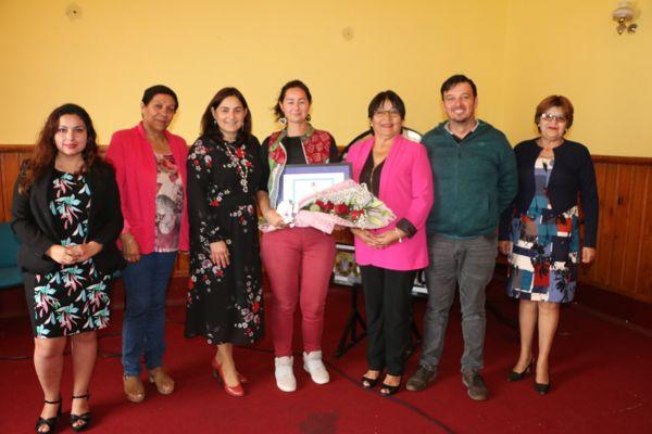 Mujer calderina emprendedora fue reconocida por el consejo   municipal