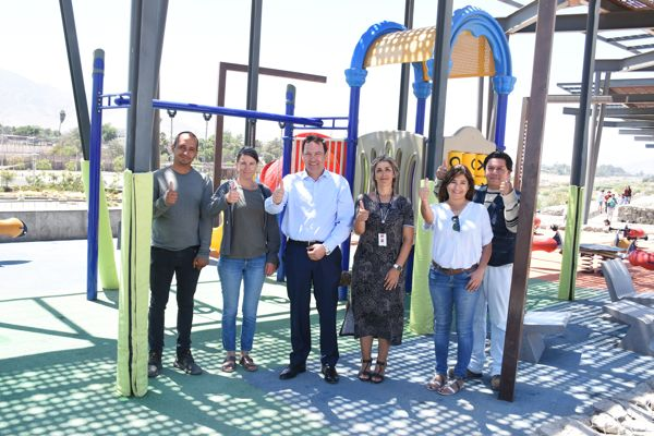 Gobierno abre a la comunidad nuevo sector de juegos en el Parque Kaukari