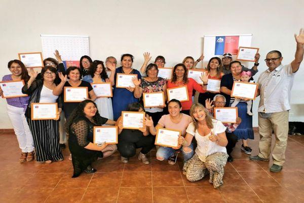 Participantes de Diego de Almagro concretan su sueño de emprender con apoyo del Fosis