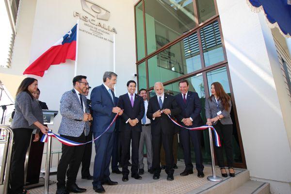 Fiscalía de Atacama inauguró moderno edificio institucional para la comunidad de Chañaral