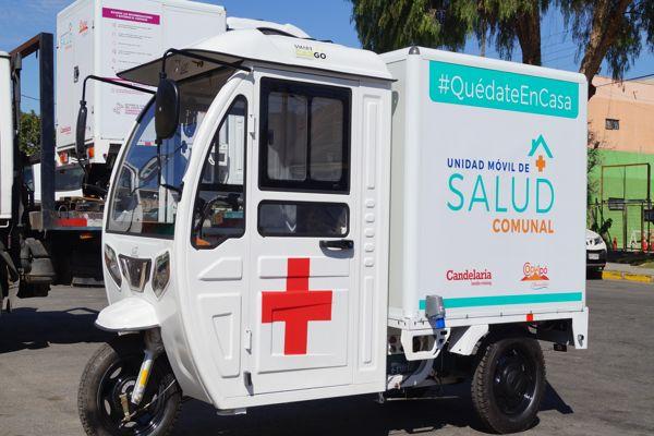 Minera Candelaria entregó unidades móviles de salud para las comunas de Tierra Amarilla, Caldera y Copiapó