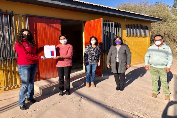 Vecinos de Fco. de Aguirre postularan a grandes proyectos comunales gracias a concesión otorgada por bienes Atacama