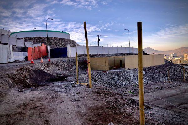 Autoridades regionales encabeza intenso operativo de fiscalización de nuevas ocupaciones en zonas de alto riego