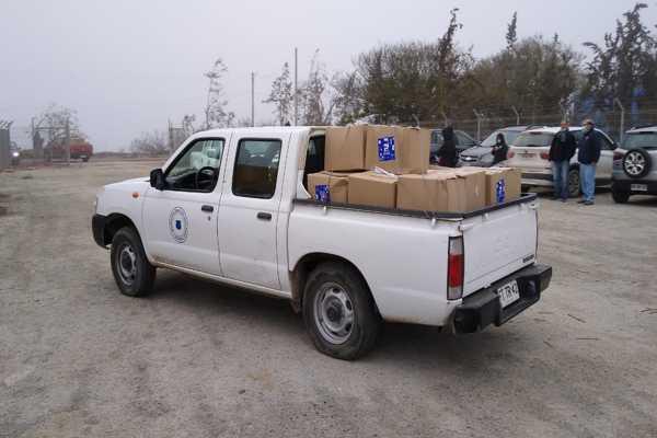 6 mil familias de la comuna de Vallenar reciben canastas familiares Covid-19