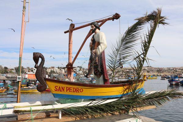 Festividad de San Pedro en Caldera