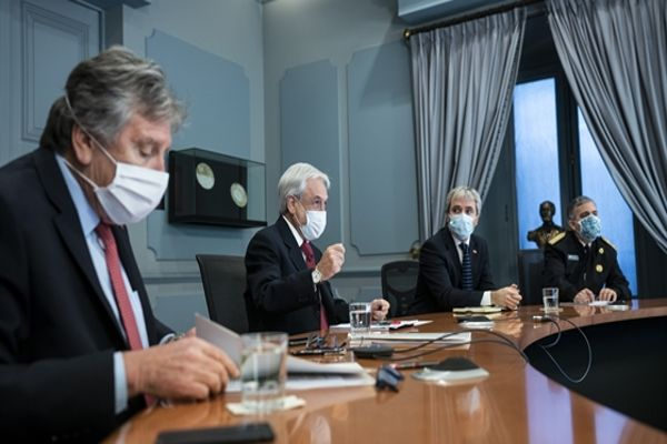 Presidente Piñera amplia Estado de Excepción Constitucional de Catástrofe en todo el país por 90 días