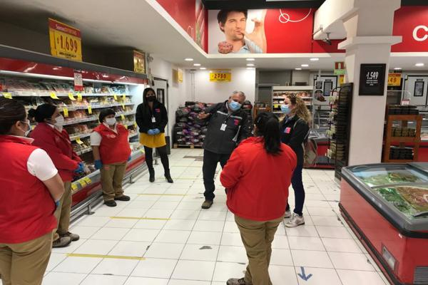Dirección del Trabajo fiscalizó Supermercado Santa Isabel en Vallenar, donde dos trabajadores se contagiaron de Covid-19