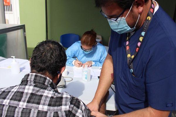Continuamos con la Toma de exámenes PCR preventivos a grupos objetivos de riesgo de nuestra comuna de Caldera.