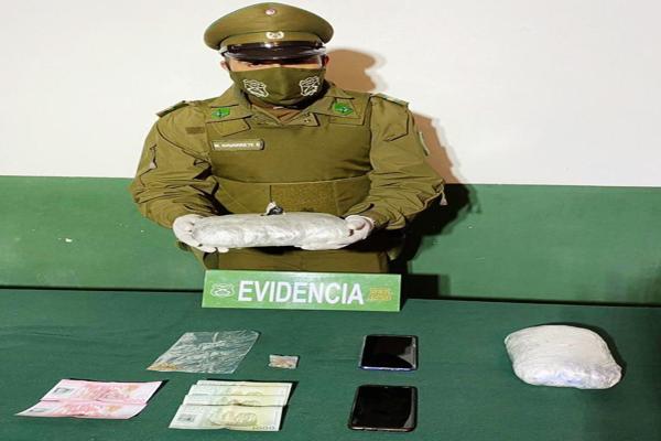 Control vehicular dejo al descubierto trafico de marihuana.