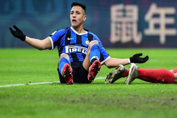 """En Italia aseguran que Alexis Sánchez está en """"lista de cortados"""" del Inter y deberá volver a Inglaterra"""