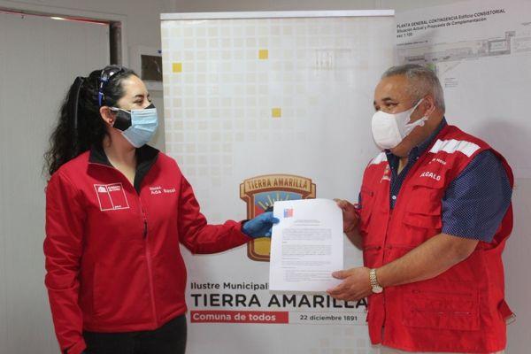 DEBUTARÁ EN ATACAMA PROGRAMA DE CUIDADOS DOMICILIARIOS PARA MAYORES EN LAS COMUNAS DE ALTO DEL CARMEN Y TIERRA AMARILLA