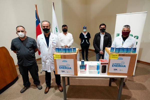 ENGIE dona 2.000 test rápidos en la región de Atacama.