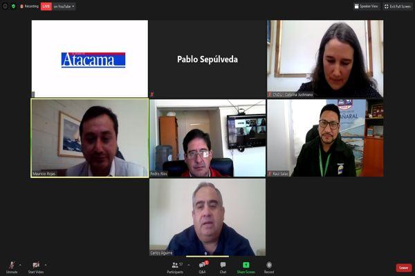 """Alcalde Raul Salas destaca la importancia de generar ciudades """"DISFRUTABLES, INCLUSIVAS Y RESILIENTES"""" en seminario por diario Atacama."""