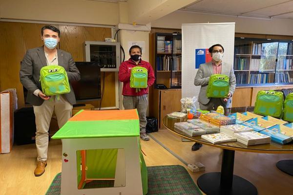 Ministerio de Desarrollo Social y Familia entrega material lúdico para niños y niñas de residencias sanitarias en Atacama