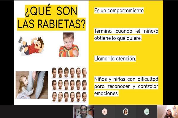 Con gran participación de las familias concluyeron los talleres Online de JUNJI Atacama para padres y apoderados de hijos con Trastorno de Espectro Autista (TEA).