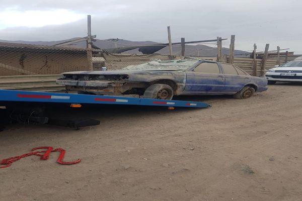 Municipalidad retiró autos abandonados de las calles de Chañaral.