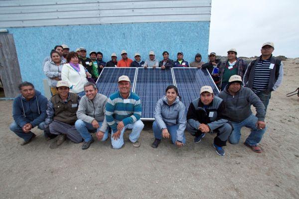 Destacan iniciativas de desarrollo local entre comunidades de Freirina y parques eólicos.