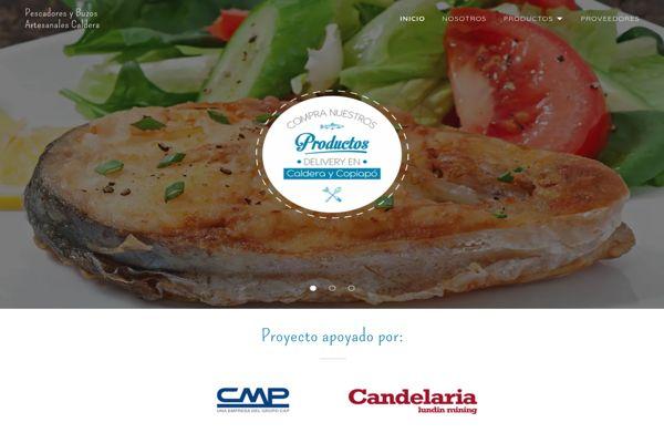 Pescadores y buzos artesanales de Caldera cuentan con nueva página web para comercializar sus productos.