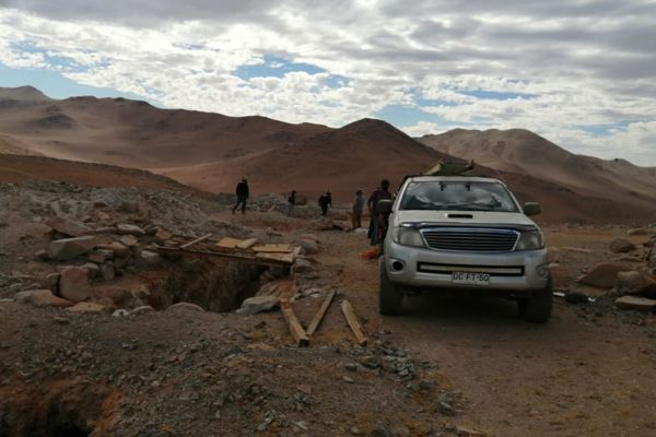 Jornadas de búsqueda de Catalina Alvarez centran sus puntos de interés en piques cercanos a Copiapó.
