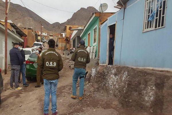 Hombre murió apuñalado en campamento Villa Constancia de Antofagasta.
