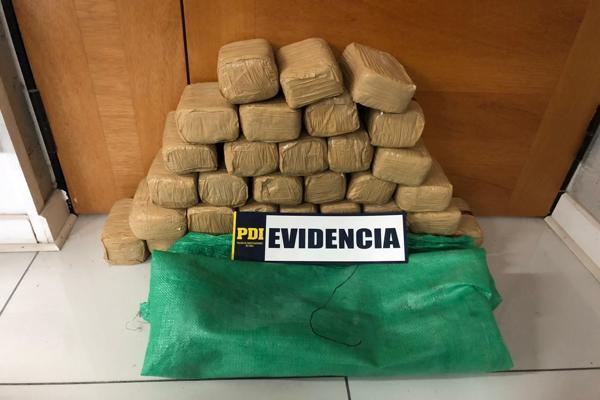 Fiscalía obtuvo prisión preventiva de imputados por tráfico de 230 kilos de pasta base en Chañaral.