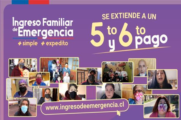 Este miércoles comienza el quinto pago del Ingreso Familiar de Emergencia