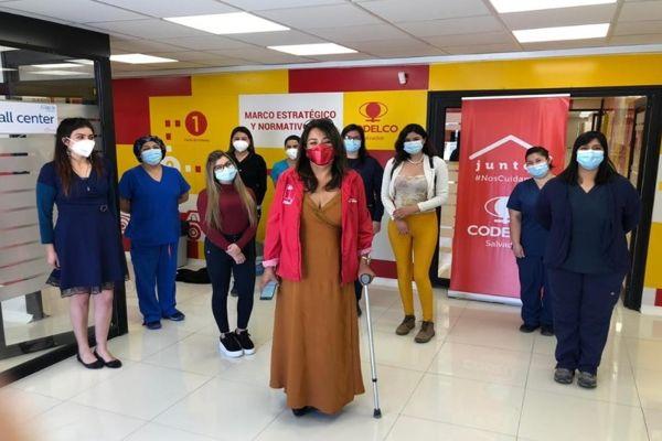PRODEMU valoró centro Covid-19 de mujeres y proyecta convenio de colaboración con CODELCO.