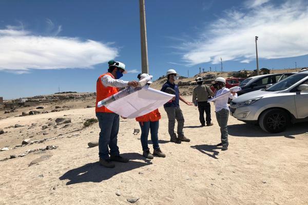 Ministro en Ciencias y equipo de asesores realizaron visita de inspección a Puerto de Caldera