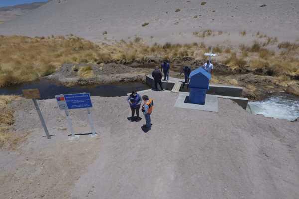 MOP Atacama finalizó obras de Conservación y Reconstrucción  de 5 Estaciones Fluviométricas