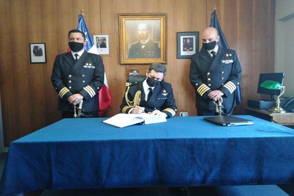 Nuevo Gobernador Marítimo en Caldera