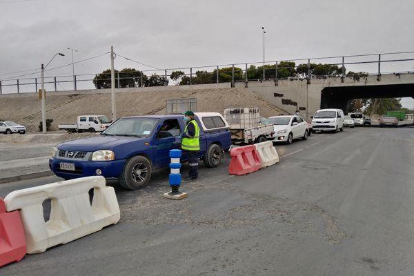 Se implementa barrera sanitaria en Caldera