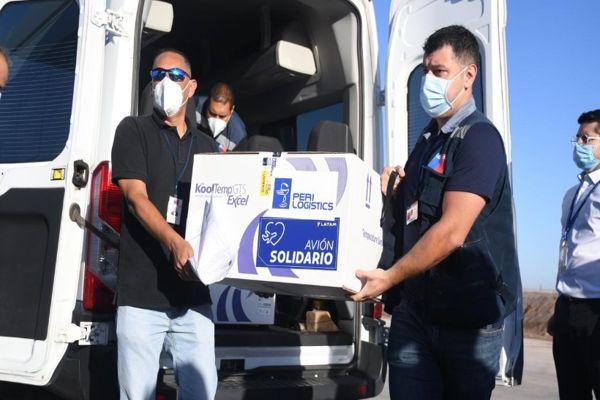 Este lunes llegaron las vacunas contra el covid-19 en la Región de Antofagasta