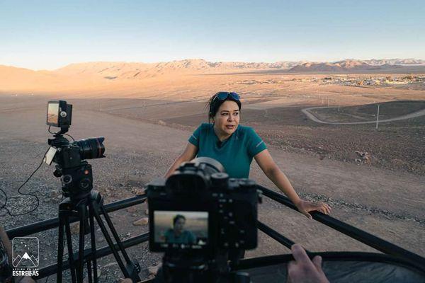 "Astrofotógrafa de Diego de Almagro, Daniela Trabucco, es parte de documental ""Arriba en las Estrellas"""