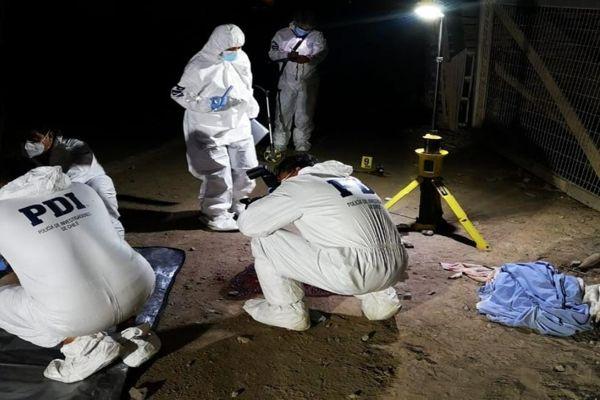 PDI investiga homicidio ocurrido en el sector Parque El Pretil