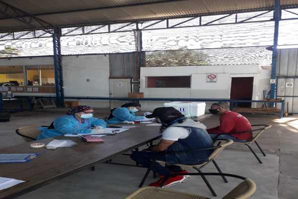 Estrategia Regional test de saliva: mas de 12 mil exámenes al día