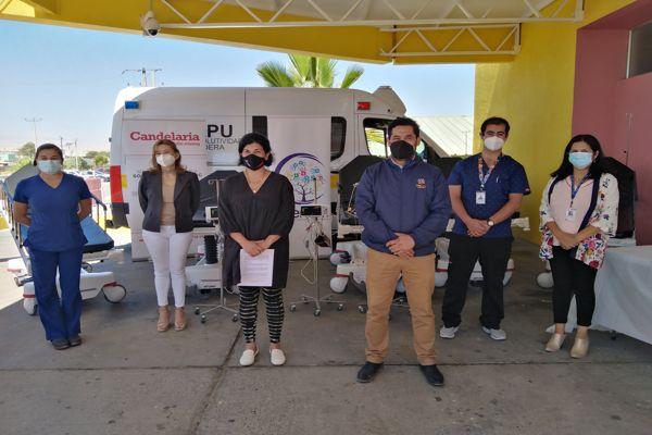 SAR de Caldera recibe importante donación de insumos médicos