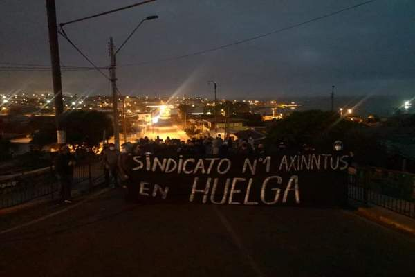 HUASCO: Sindicato de Axinntus que presta servicios a la Termoeléctrica Guacolda en Huasco, cumple 20 días en huelga