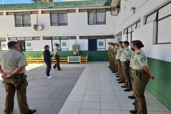 Unidad Sacfi de la Fiscalía capacitó a Carabineros previo al inicio de sus turnos en Copiapó