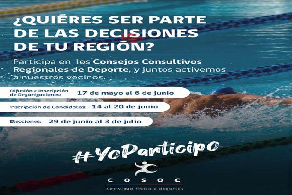 MINDEP-IND Atacama invitan a ser parte del Consejo de la Sociedad Civil de la actividad física y deporte