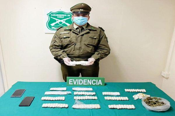 Dos personas detenidas por tráfico de drogas fueron formalizadas y quedaron en prisión preventiva