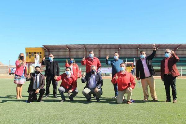 Gobierno inaugura obras del estadio Luis Álamos Luque de Chañaral