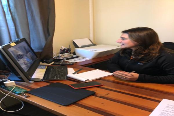 Diputada Sofía Cid se reunió con director nacional de la Onemi para analizar proyecto de alarmas en el Borde Costero de Atacama